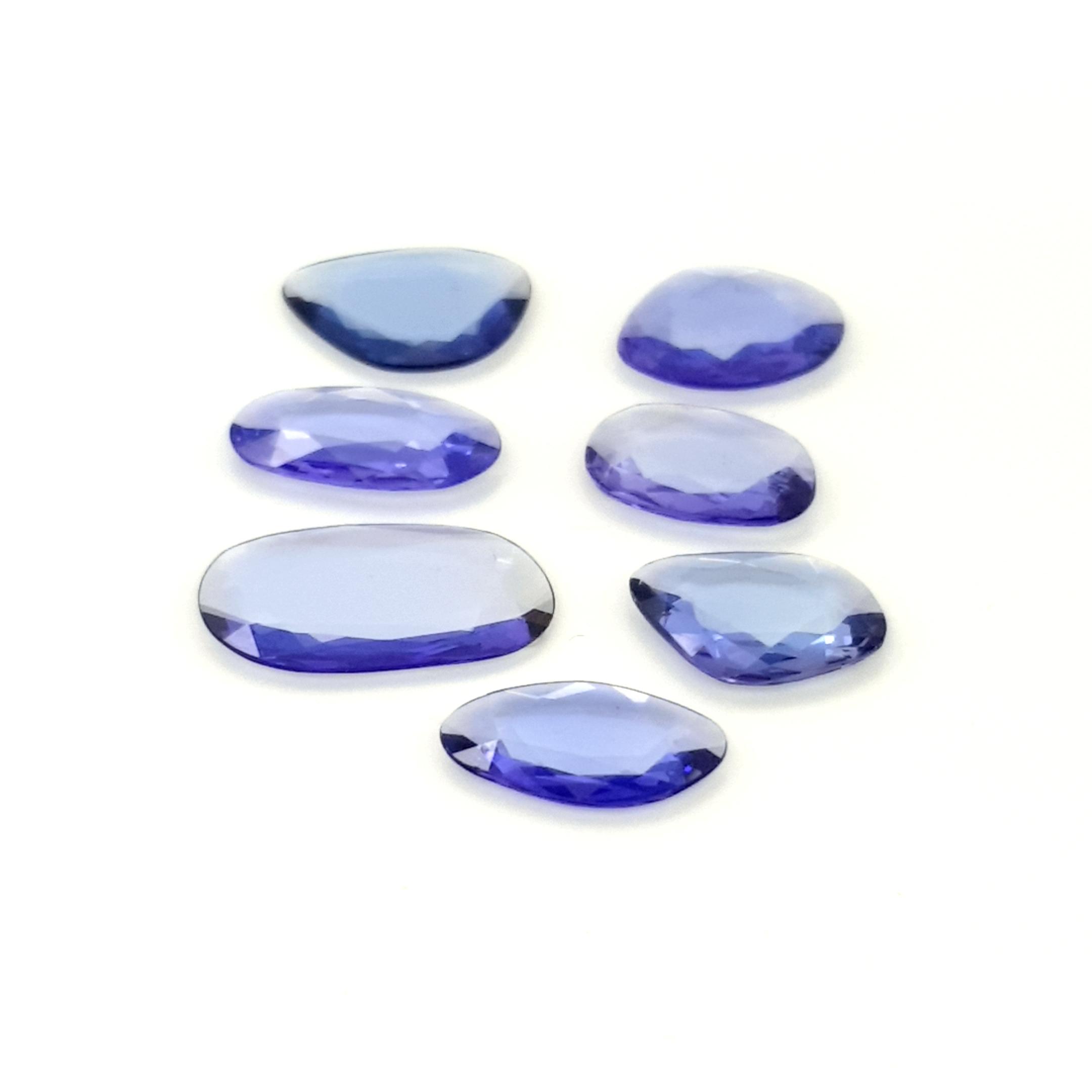 1,50-3,00ct.size Tanzanite DoubleRoseCut TZK09C4 ClaudiaHamann__2021-03-16-21-48-11