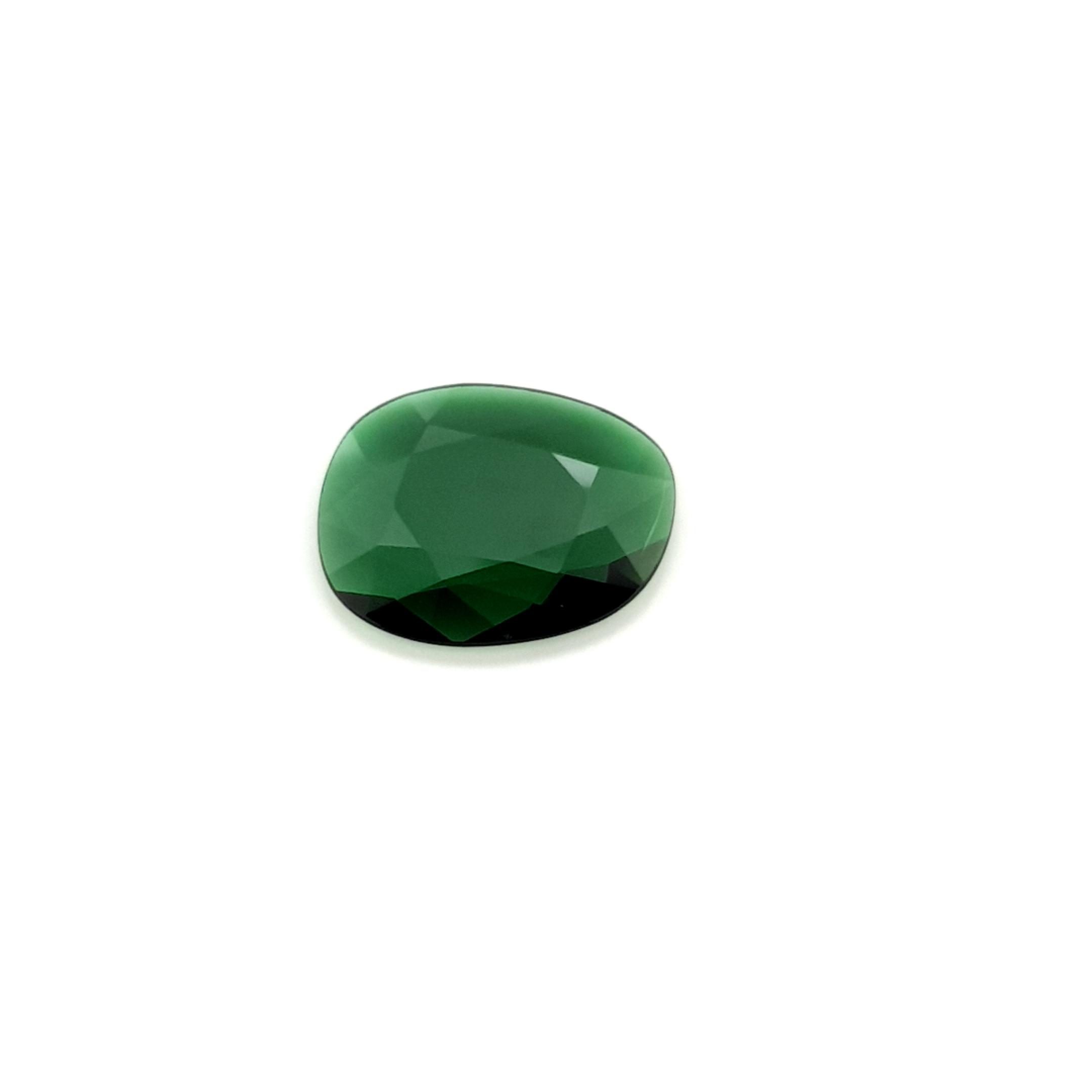 2,83ct. Imperial Green Tourmalin DoubleRoseCut TMK17C7 ClaudiaHamann__2021-02-11-16-14-36