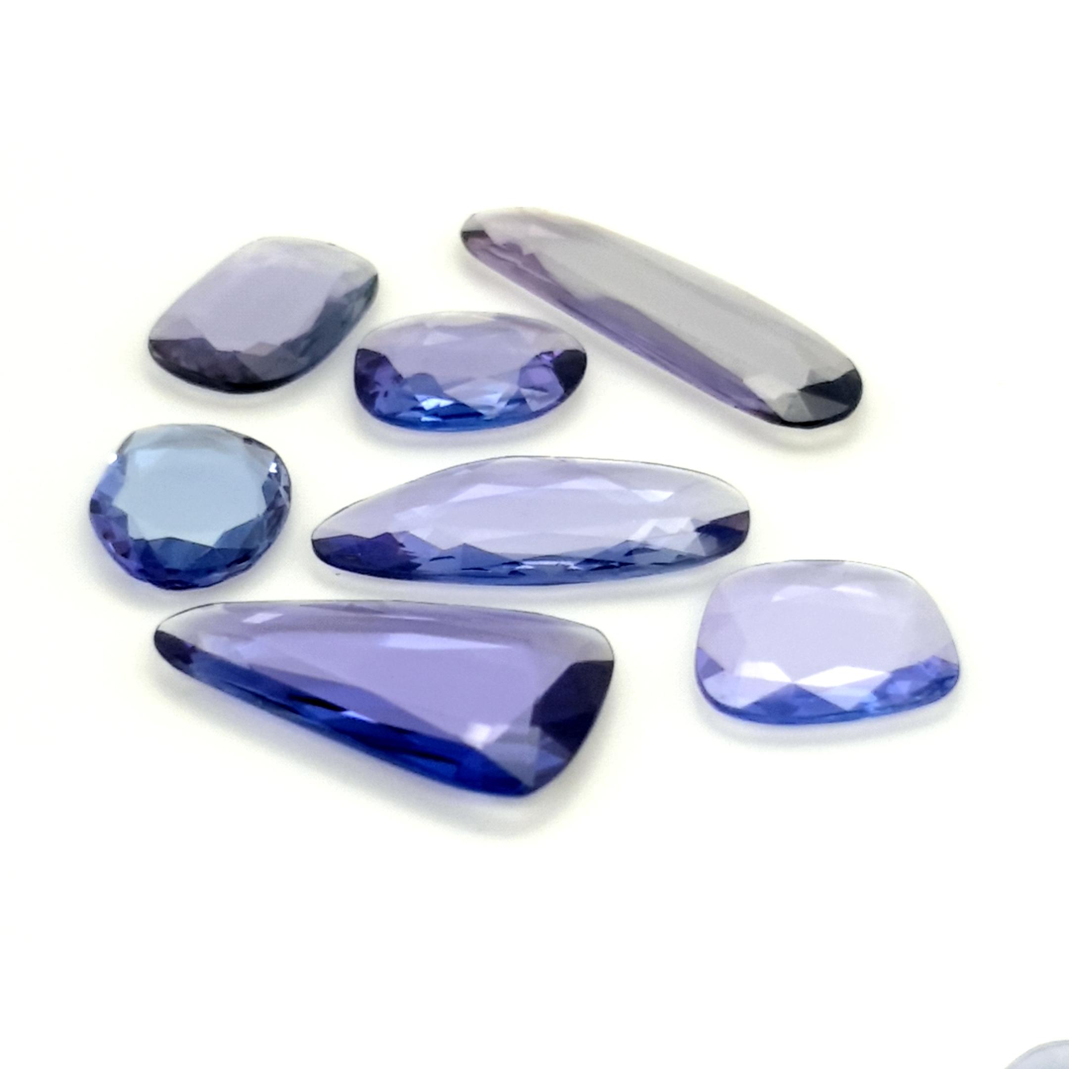 3,00-7,00ct.size Tanzanite DoubleRoseCut TZK09C5 ClaudiaHamann__2021-03-16-21-57-01
