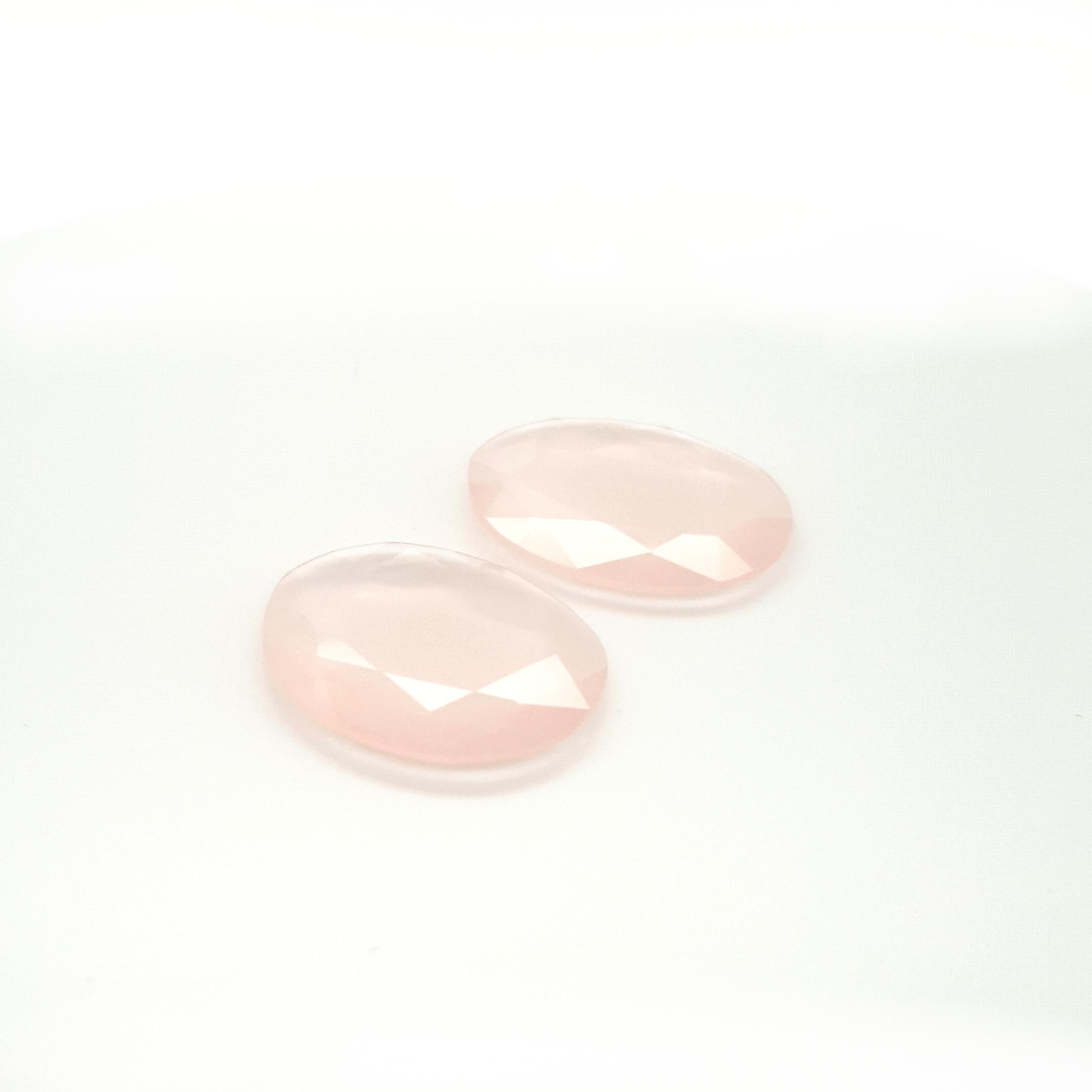 33,36ct. Pair Rose Quartz DoubleRoseCut QZC11C2 ClaudiaHamann__2021-03-18-22-55-39