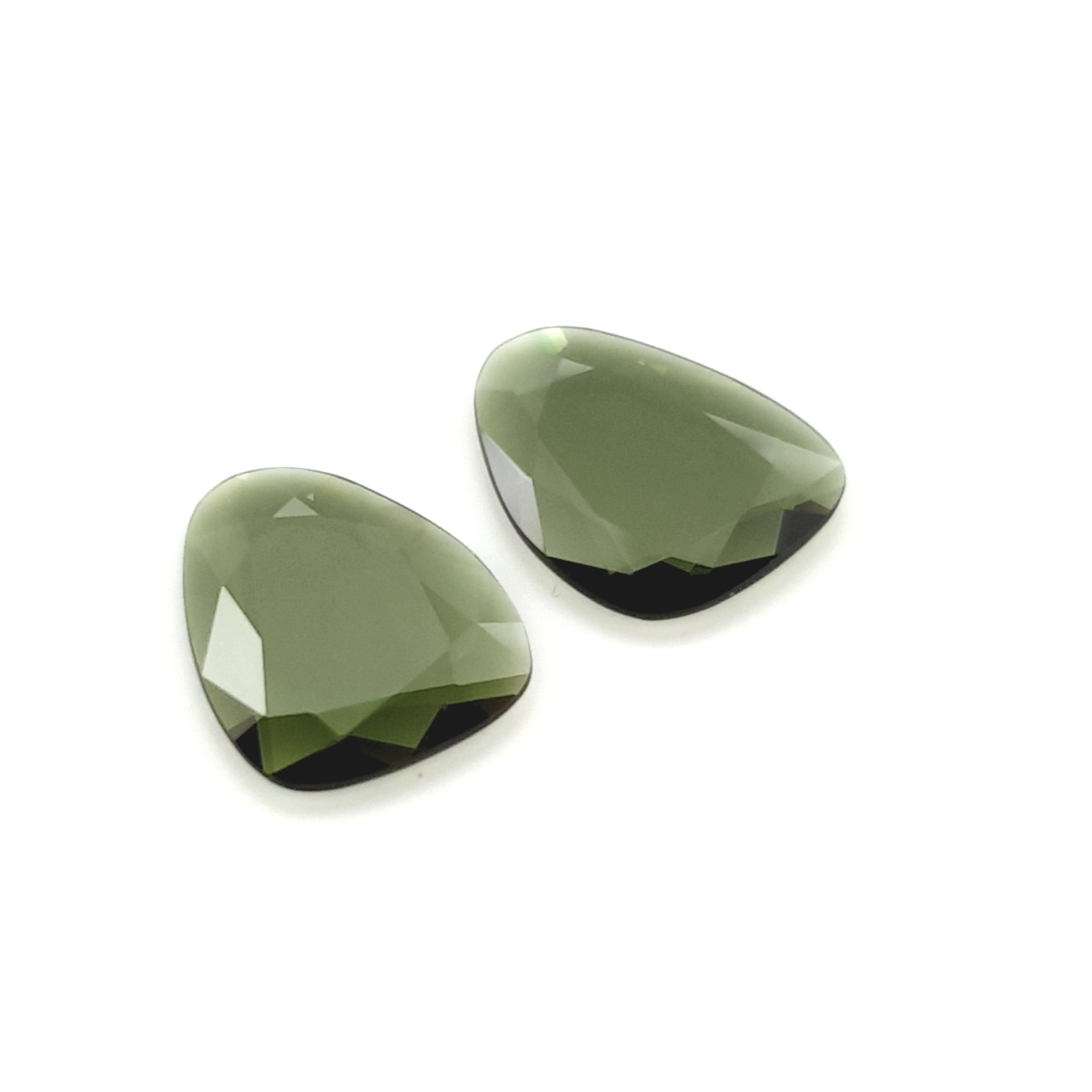 4,84ct.Pair Imperial Green Tourmalin DoubleRoseCut TMJ18C3 ClaudiaHamann__2021-02-11-22-49-25