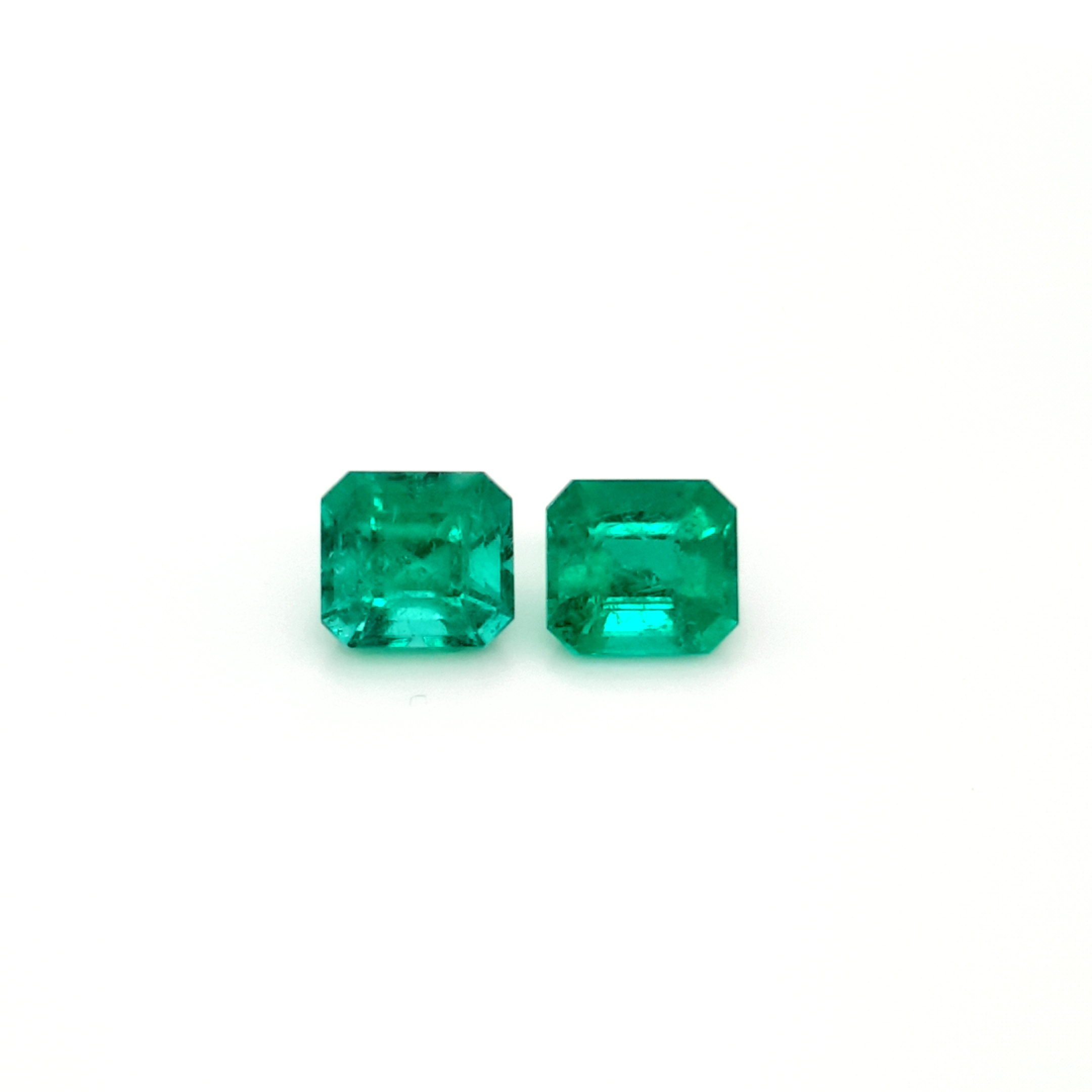 6,74 ct. Pair Emerald from Colombia cert. EMI18D4 ClaudiaHamann__2021-03-24-15-29-24