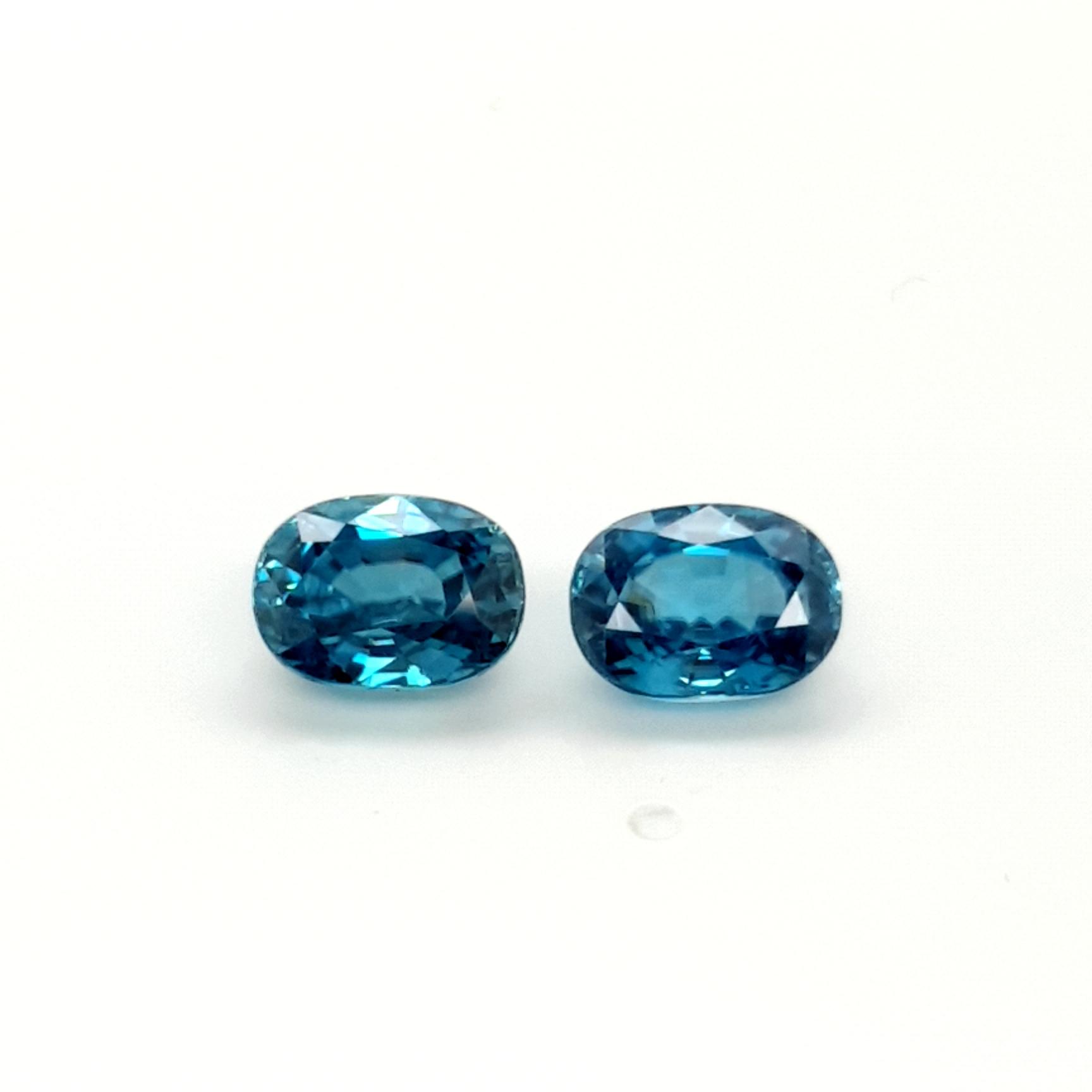 9,44ct Starlight Blue Zircon ZCK16D3 Claudia Hamann