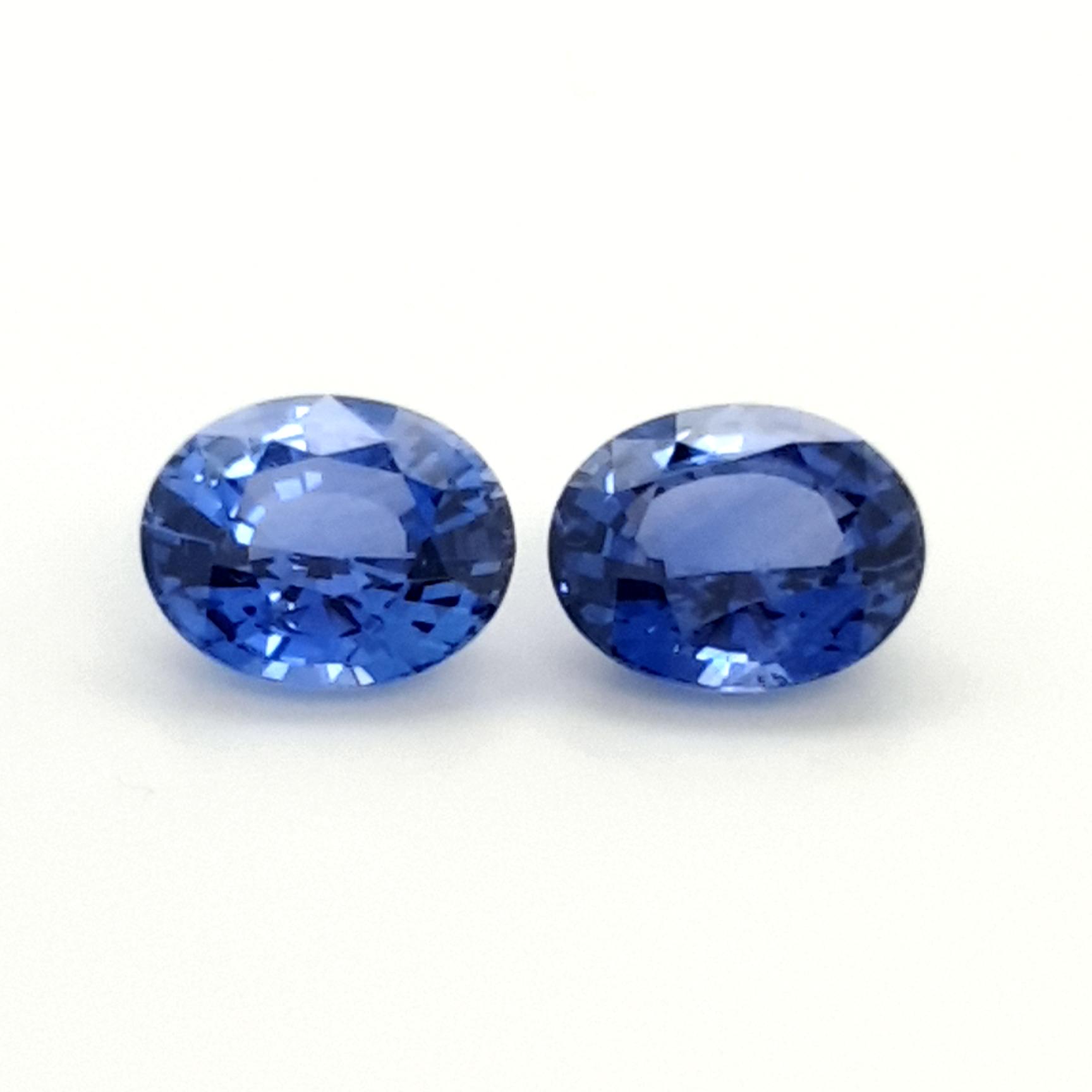 8,30ct. Pair Sapphire Ceylon cert. SAK15D2 ClaudiaHamann__2021-06-03-08-47-32