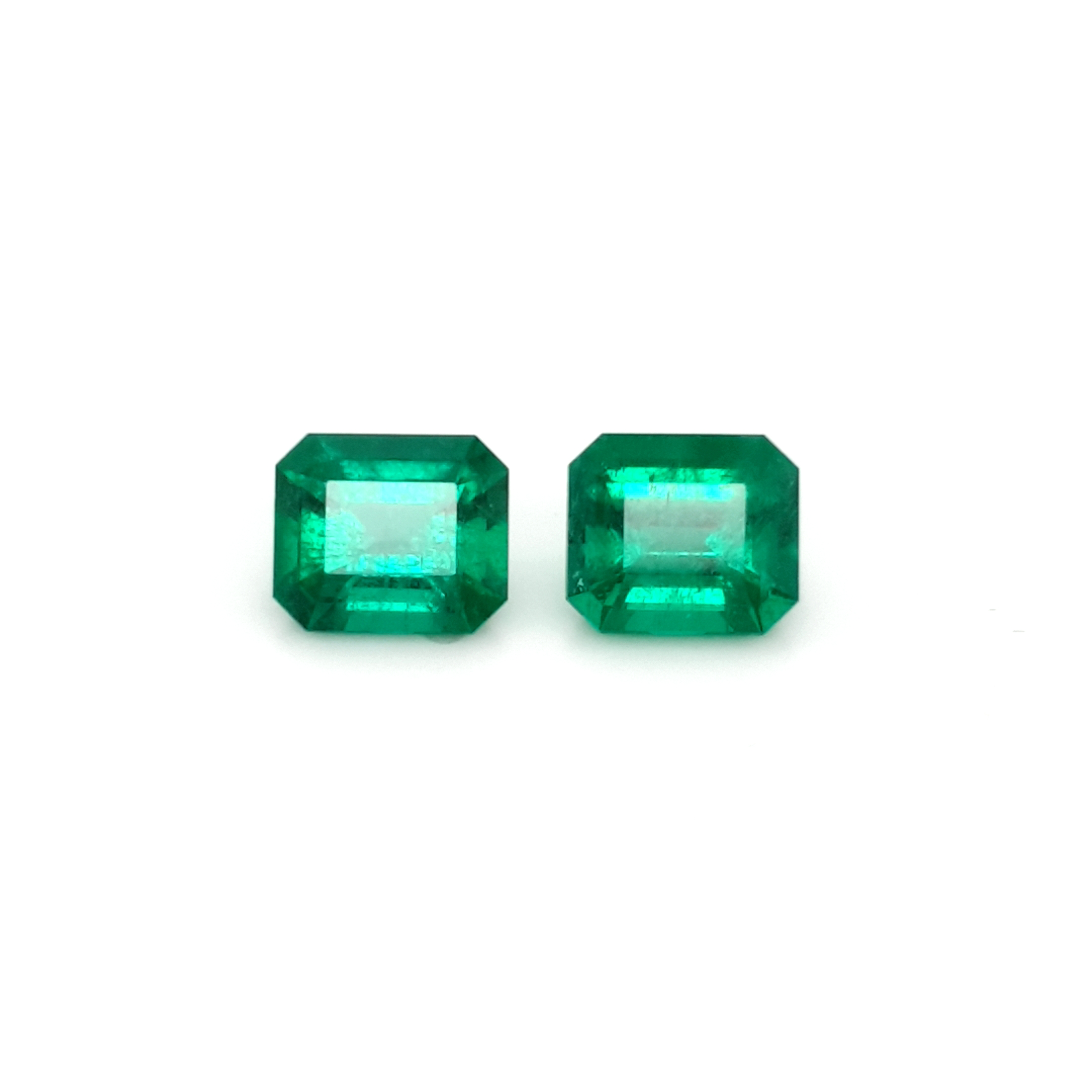 7,39ct. Pair Emerald from Colombia MuzoGreen cert. EML20D1 ClaudiaHamann__2021-03-24-14-27-10